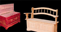 Benches & Cedar Chests
